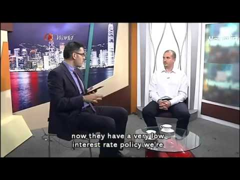 China Stock Market Crash, Greek Crisis & Bitcoin - Simon Dixon on ATV Hong Kong