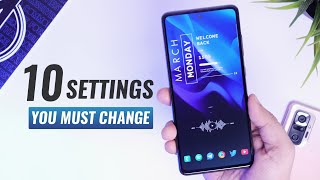 01. Samsung Galaxy A52 - 10 Important Settings To Change NOW!