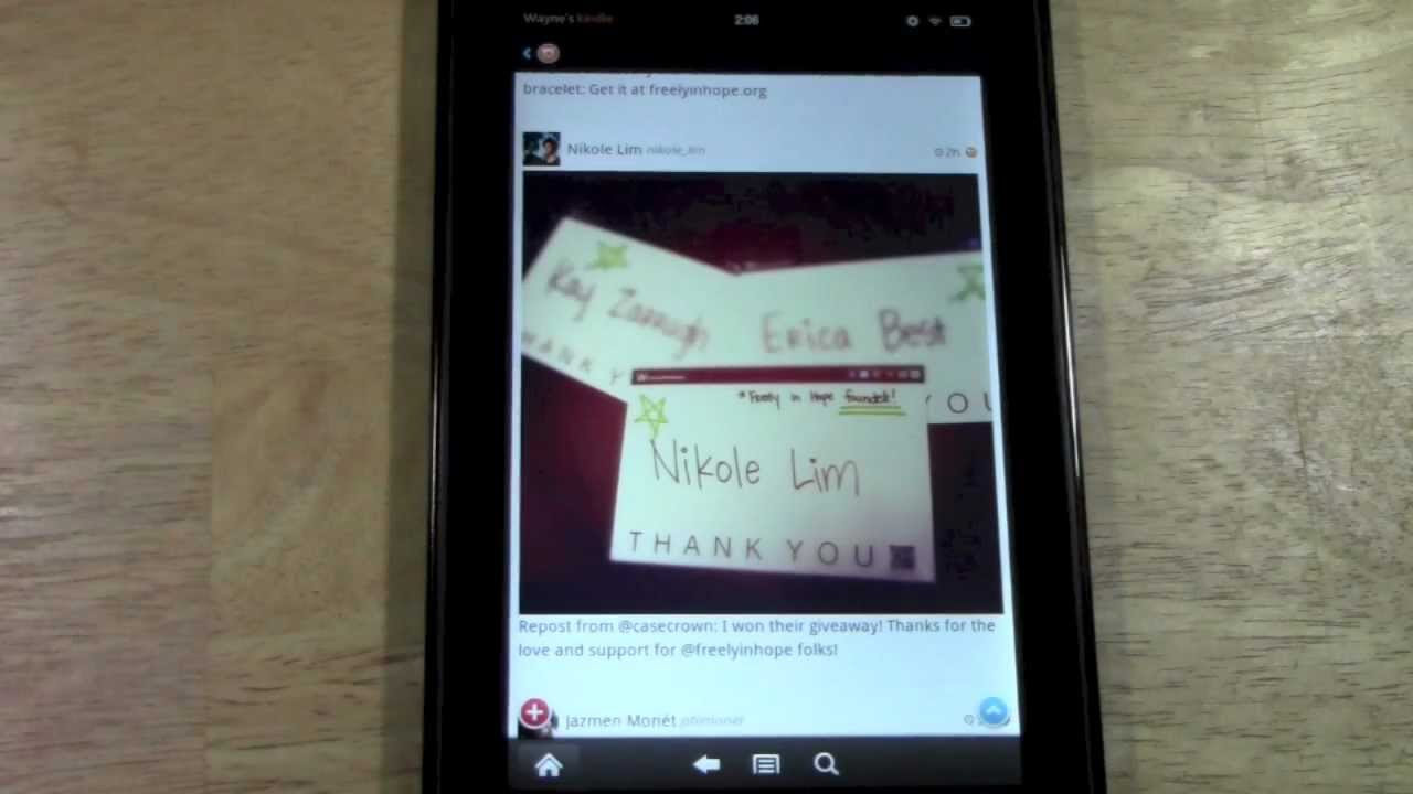Set Up an E-Mail Account on Your Kindle Fire HD - dummies