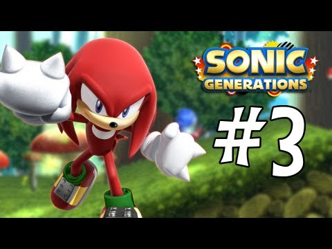 Sonic Generations 3DS Walkthrough: Mushroom Hill Zone Act 1. 2. and Special Stage 3