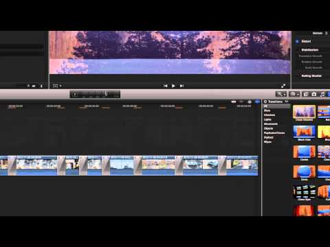 Final Cut Pro X - Transitions