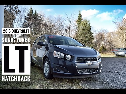 2016 Chevy Sonic Turbo LT Hatchback Road Test & Review | Pye Chevrolet Buick GMC Truro NS