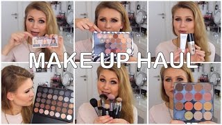 XXL MAKE UP HAUL | Morphe Brushes, MakeUp Geek, Beni Durrer, NYX, UD, The Balm...