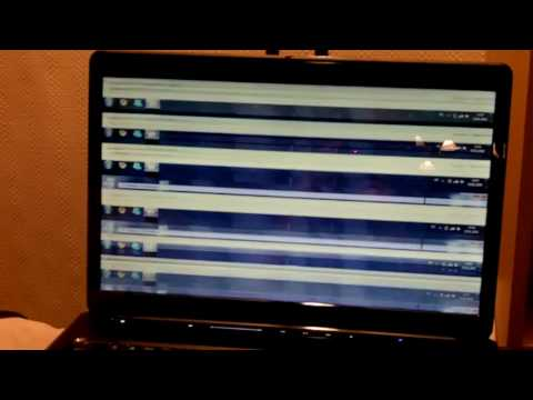Vertical Lines on Laptop Screen hp hp Laptop Screen Problem
