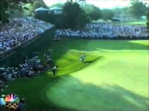 2006 US Open golf - Phil Mickelson 18th hole final round