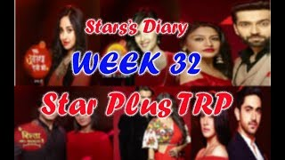 ALL STAR PLUS SERIALS TRP IN WEEK 32
