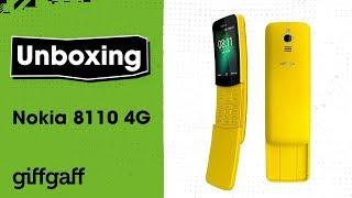 Nokia 8110 4G | Phone Unboxing | giffgaff
