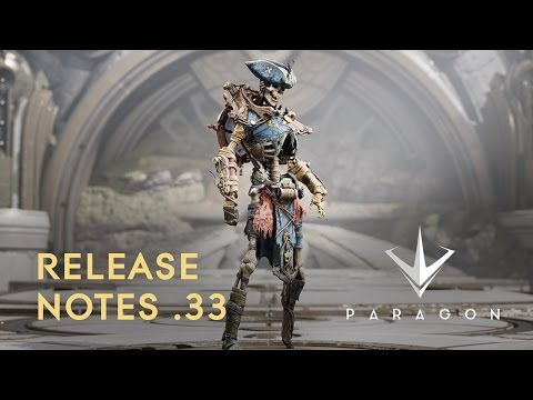Paragon - Release Notes .33