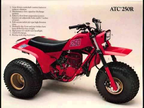 ATC 3- wheelers A History!