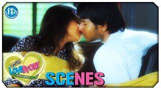 Sundeep and Regina Kiss Scene - Routine Love Story Movie Scenes || MS Narayana || Snigdha