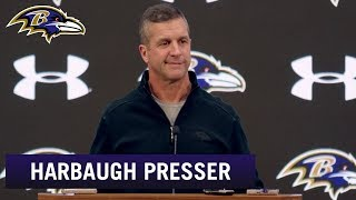 John Harbaugh Not Focused on AFC Standings | Baltimore Ravens
