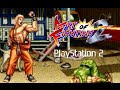 Art of Fighting 2 playthrough (PS2)
