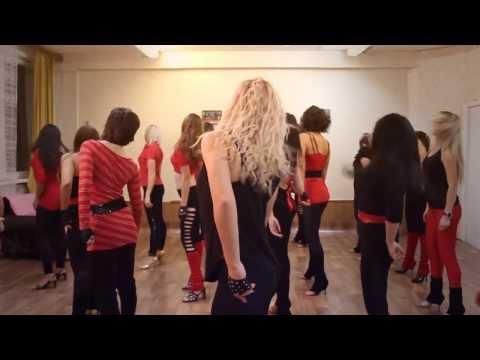 школа танцев для девушек в Харькове| первый ролик 2010|