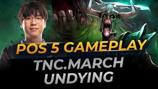 TNC.March Undying Hard Support | Full Gameplay Dota 2 Replay