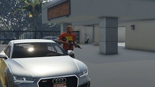 GTA 5 Franklins New Real Car And House
