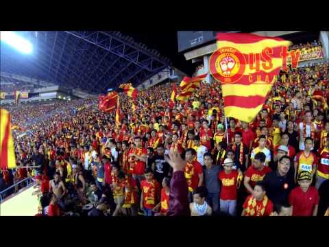 "ultraSel vs JDT : Shah Alam : Pre-Corteo - ""Ayuh Merah Kuningku"""