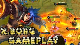 New Hero X.Borg Gameplay - Mobile Legends Bang Bang