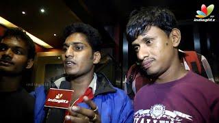Attakathi - Thirudan Police Movie Public Review | Attakathi Dinesh, Iyshwarya Rajesh,Yuvan,Vijay Sethupathi