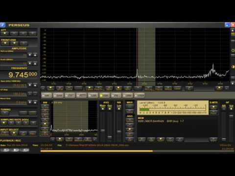 memo 9745 kHz USB Radio Bahrain ( presumed ) / June 25,2016 2124 UTC