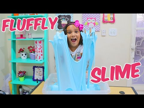 DIY MEGA FLUFFY SLIME! - JULIANA BALTAR thumbnail