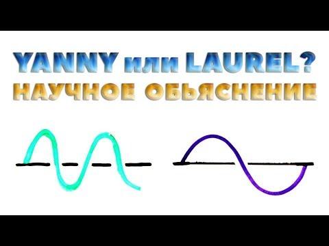 Yanny или Laurel | Научное объяснение