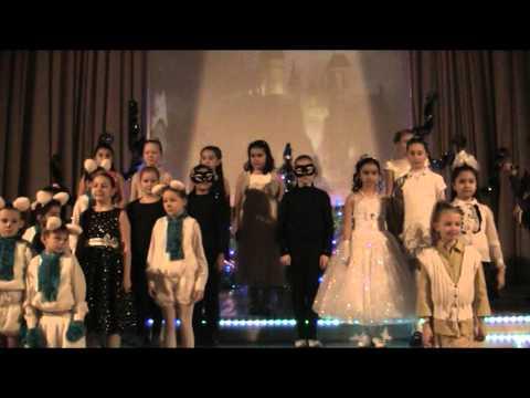 Новогодний праздник в 1-3 классах школы 1034 города Москвы