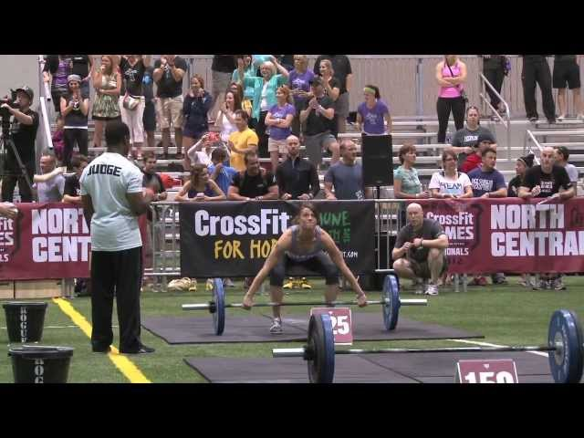QCCF Women Snatch Ladder - CrossFit Games 2012 North Central