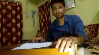 Harmonium cover Some oldies by Joy Bollywood old medley Bas Bas