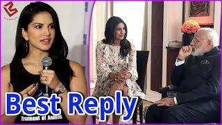 Priyanka Chopra की छोटी Dress पर Troll करने वालो को Sunny Leone ने दिया Best Reply