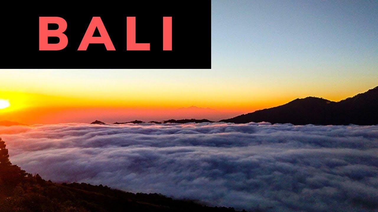 Volcanoes Bali Indonesia Indonesia Bali Sunrise at