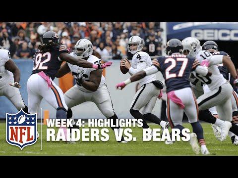 Raiders Vs Bears Week 4 Highlights Nfl