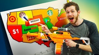 NERF Mystery Map Challenge!