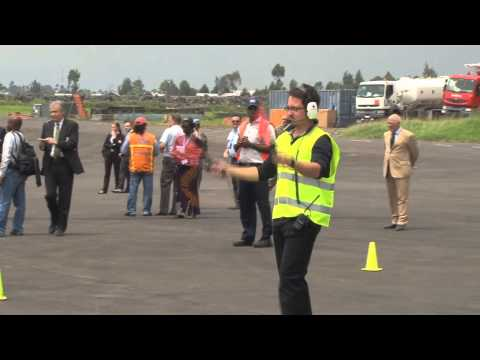UN Mission in DR Congo launches the inaugural flight of unarmed Unmanned Aerial Vehicles in Goma