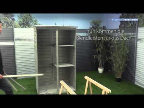 Aufbau TraumGarten NEO Gartenschrank - Tipps Und Tricks