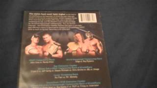 WWE No Way Out 2008 DVD Review