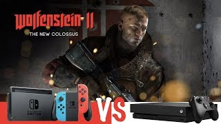 Wolfenstein 2: The New Colossus | Nintendo Switch Vs. Xbox One X Graphics Compared