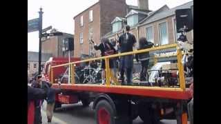 It's a Long Way to the Top Video shoot - Buon Scotch Bon Fest 2013 - AC/DC Tribute in Kirriemuir