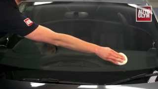 New Autoglym Car Glass Polish cleaning oil from glass