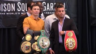 Gennady Golovkin vs David Lemieux FULL PRESS CONFERENCE