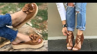 download musica Tendências do Verão 2018 de sandálias e sapatos