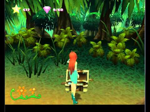 Winx Club (PS2) - wine wall and death glitches