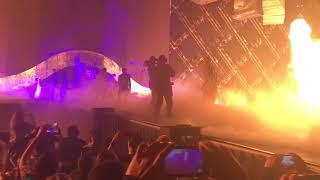 Undertaker's WrestleMania 34 Entrance/Cena Reaction