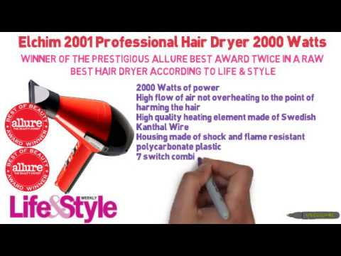5 Best Hair Dryer Reviews For 2014 - Read Before You Buy