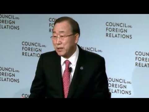 A Conversation with Ban Ki-moon