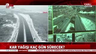 İstanbul'da kar yağışı kaç gün sürecek? İstanbul hava durumu