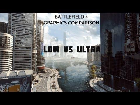 Bf4 Ultra Graphics Bf4 Beta Graphics Comparison
