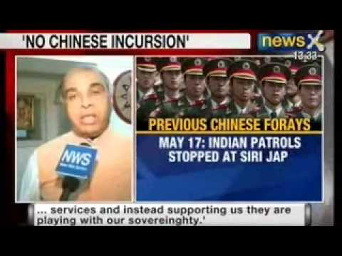NewsX : Defence Minister A.K.Antony denies chinese people liberation army infiltration in Ladakh