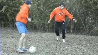 Soccer Defense - MLS Jed Zayner demonstrates how to defend