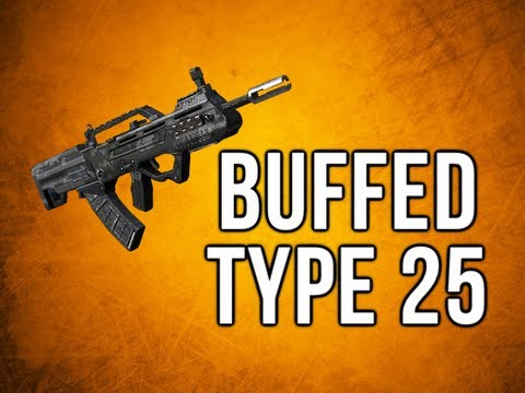 Black Ops 2 In Depth - Buffed Type 25 Assault Rifle Review