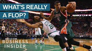 NBA Ref Explains What Counts As A Flop